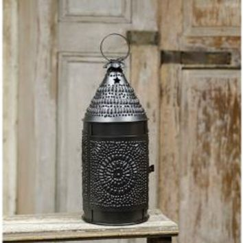 Punched Tin Baker's Lanterns