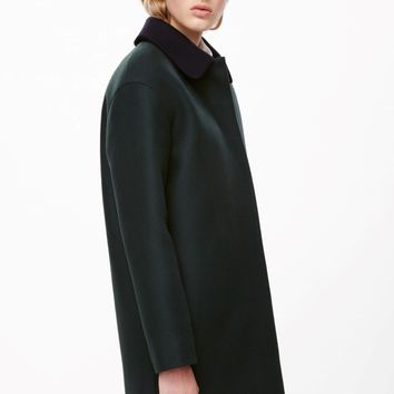 Detachable collar coat