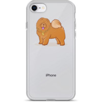 Chow Chow iPhone 7 8 Case | Funny Dog Lover Cover | The Jazzy Panda