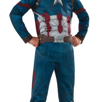 Rubies Costume Captain America Civil War Value Captain America Costume Large