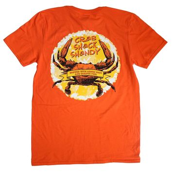 Crab Shack Shandy (Orange) / Shirt