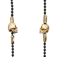 'Til Death Do Us Part Skull Necklace