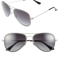 Women's Ray-Ban 'Icon' 56mm Polarized Aviator Sunglasses