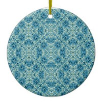 Modern Baroque Pattern Ceramic Ornament