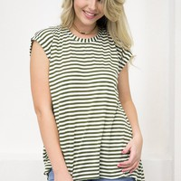 All Striped Top