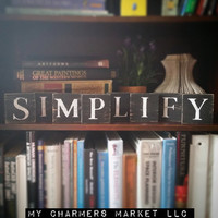 Simplify Sign, Simplify Tile Letters, Simplify Wall Decor, Wooden Letter Blocks, Wood Letter Tiles, Shabby Chic Sign Set, Gift Idea, Simple