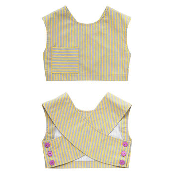Crossover Back Cropped Top   5 Years