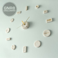 Time for Tea Clock by Rebecca Wilson for Rebecca Wilson - Free Shipping