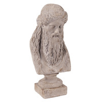 Ancient Greek Philosopher Oversized Ceramic Bust