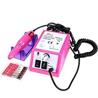 Oanon 15000RMP Nail Drill Machine, Professional Nail Drill Acrylic Electric Nail File Nail Tool Set, Manicure Drill Machine Low Heat Low Noise US Plug (Pink)