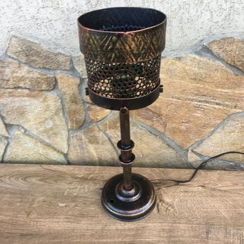 Sconce light, sconce lighting, iron gift, sconce lantern, 6th anniversary gift,torch,viking lantern,Olympic torch,sconce iron,sconce antique