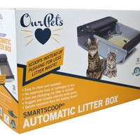 CAT LITTER PANS & ACCESSORIES - SMARTSCOOP AUTO LITTER BOX -  - OUR PET'S - UPC: 780824126147 - DEPT: CAT PRODUCTS