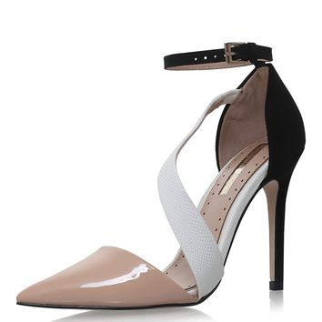 **ARIELLE Nude High Heel Sandals by Miss KG | Topshop