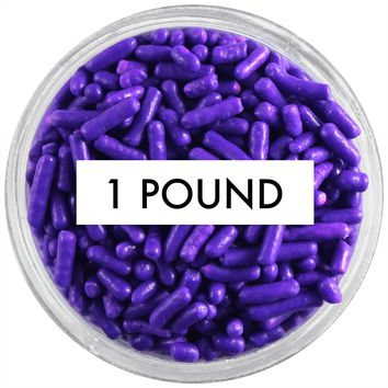Purple Jimmies 1 LB