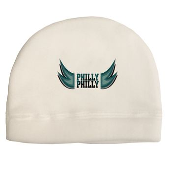 Philly Philly Funny Beer Drinking Adult Fleece Beanie Cap Hat by TooLoud