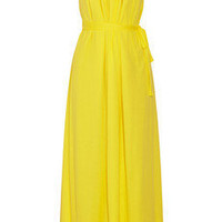 Thakoon Addition | Superfine belted cotton-jersey maxi dress | NET-A-PORTER.COM
