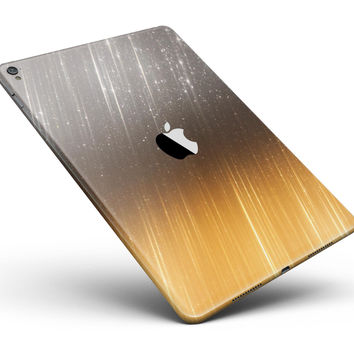 "Scratched Gold and Silver Surface Full Body Skin for the iPad Pro (12.9"" or 9.7"" available)"