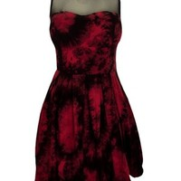 Blood Spatter Ladies Black Dress - Buy Online at Grindstore.com