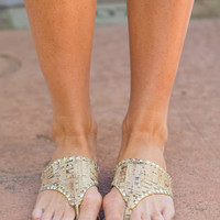 Cork By The Ocean Sandals, Natural