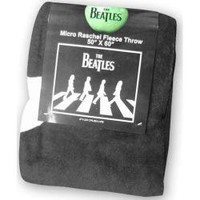 ROCKWORLDEAST - The Beatles, Blanket, Abbey Road Black & White