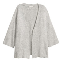 Cardigan - Light grey marl - Ladies | H&M GB