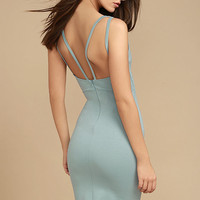 Gracefully Yours Dusty Sage Dress