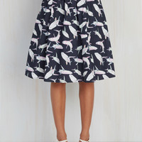 Fashion Frenzy Midi Skirt | Mod Retro Vintage Skirts | ModCloth.com