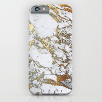 Gold Marble iPhone & iPod Case by Jenna Davis Designs