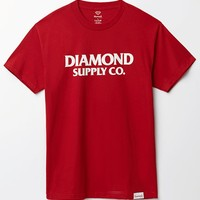 Diamond Supply Co Damaged T-Shirt - Mens Tee