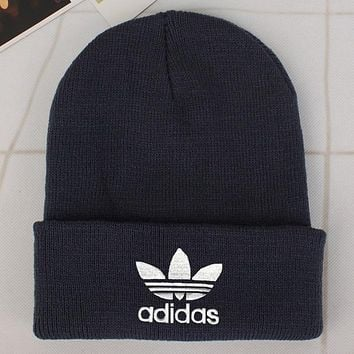 Perfect Adidas Fashion Edgy  Winter Beanies Knit Hat Cap