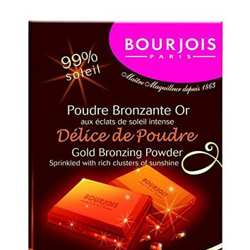 Bourjois Chocolate Bar Gold Bronzing Powder #54