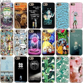 Lavaza Rick and Morty Bts Bangtan Boys Beauty And The Beast Banana Case for iPhone XS Max XR X 8 7 6 6S Plus 5 5S SE