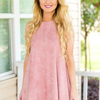 Still Here Dress - Pink - NEW ARRIVALS