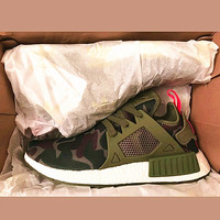 """""""Adidas"""" NMD XR1 Duck Camo Women Men Running Sport Casual Shoes Sneakers Camouflage Army green"""