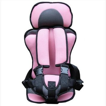 Child Safety Car Booster Seat With Safety Belt Chair