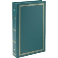 "Pioneer STC46 Classic 3 Ring Photo Album with Solid Color Covers & Gold Trim, Holds 300 4"" x 6"" Photos, 3 Per Page - Colors May Vary"