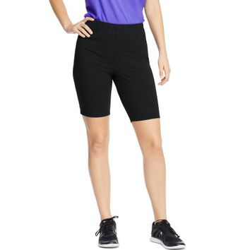 Just My Size Women's Plus-Size Stretch Jersey Bike Short - Walmart.com