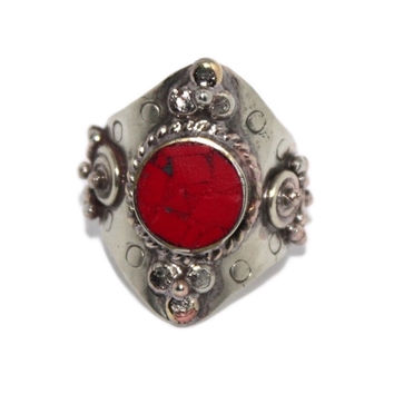 Adjustable Coral ring