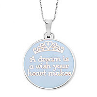 Cinderella ''A Dream is a Wish . . .'' Necklace by Alex and Ani