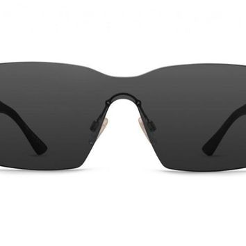 VonZipper - Alt Lesmore Black Gloss Sunglasses / Grey Lenses