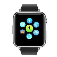 Bluetooth Mobile Phone Smart Watch - Phone book, Call Answer, SMS (Silver)