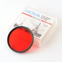 Hoya 49mm Red (25A) Filter with Keeper for Black & White VGC | eBay