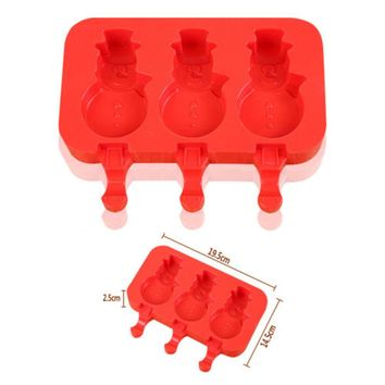 9 Designs Silicone Ice Cream Mold Frozen Ice Cream Mould Popsicle Maker Lolly Mould Tray Pan Kitchen DIY Pop Mold