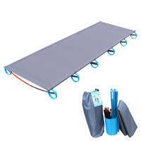 Comfortable Portable Single Folding Camp Bed Cot