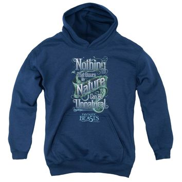 Fantastic Beasts - Unnatural Youth Pull Over Hoodie