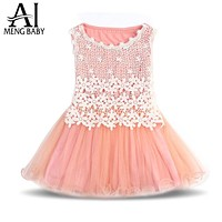 Girl Dresses for Princess Party Kids Clothes Child's Wear Toddler Tutu Baby Girls Dress Children Clothing