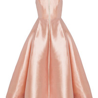 The Maeve Silk Strapless Midi Dress | Moda Operandi