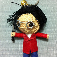 Harry Potter Voodoo String Doll Funny Keyring Keychain Key Ring Key Chain Bag Car