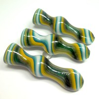 Glass Chillum by Ed DuBick