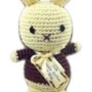 Cute Bunny Organic Cotton Small Dog Toy